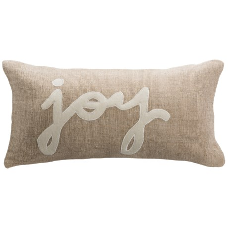 """Rizzy Home Holiday Decor Pillow - 11x21"""""""