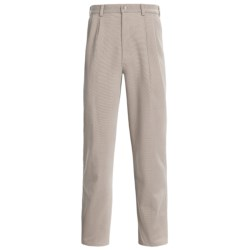 Specially made Cotton Canvas Pants - Pleated (For Men)