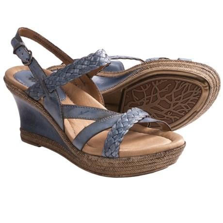 Earth Vista Wedge Heel Sandals (For Women)