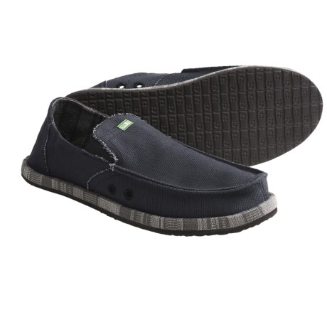 Sanuk Pick Pocket Wrapped Shoes - Slip-Ons (For Men)