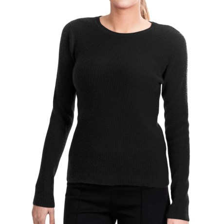 Lauren Hansen Cashmere Thermal Sweater - Crew (For Women)
