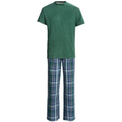 Vintage by Majestic T-Shirt and Broadcloth Pants Set - 2-Piece, Short Sleeve (For Men)