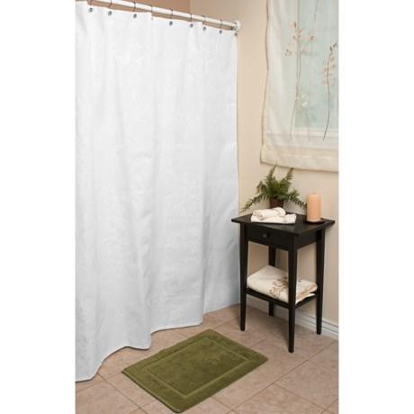 "Espalma Ivana Matelasse Shower Curtain - 72x72"""