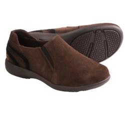 Old Friend Peace Mocs Denise Shoes - Suede (For Women)