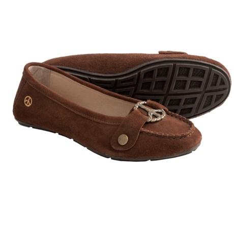 Peace Mocs Grace Shoes - Suede (For Women)
