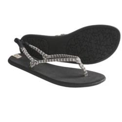 Sanuk Rasta Knotty Sandals (For Women)