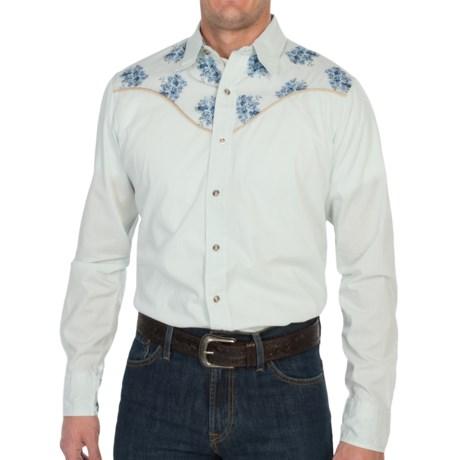 Tin Haul Print Poplin Shirt - Snap Front, Long Sleeve (For Men)
