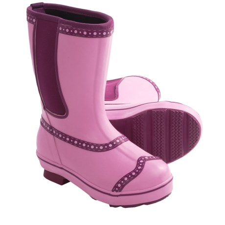 Muck Boot Company Maggie May Rubber Rain Boots - Waterproof (For Girls)
