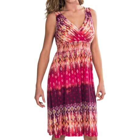 Mary McFadden Printed Knit Dress - Sleeveless (For Women)