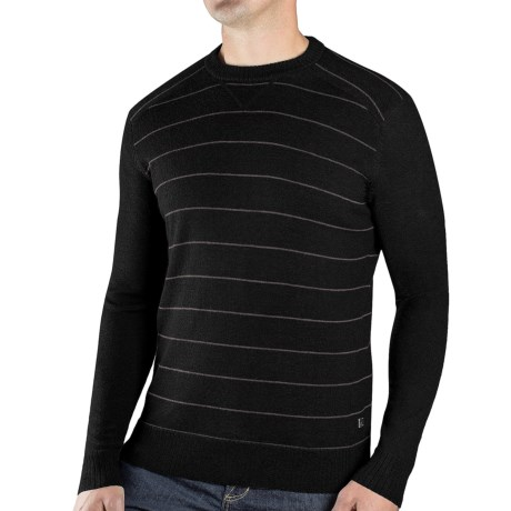 SmartWool Lightweight Stripe Sweater - Merino Wool (For Men)