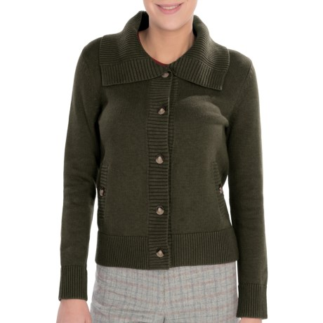 Pendleton Hanna Rib Cardigan Sweater (For Women)