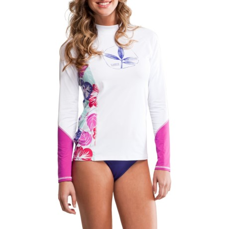 Carve Designs Tidal Rash Guard (For Women)