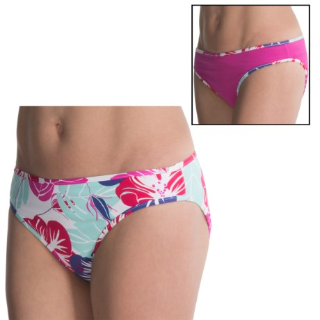 Carve Designs Janie Swimsuit Bottoms - UPF 50+, Reversible, 4-Way Stretch (For Women)