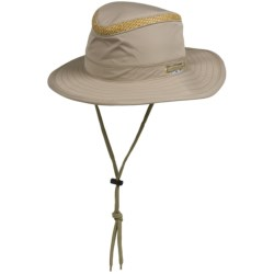 Cov-Ver Boater Outback Hat - Straw Crown (For Men and Women)