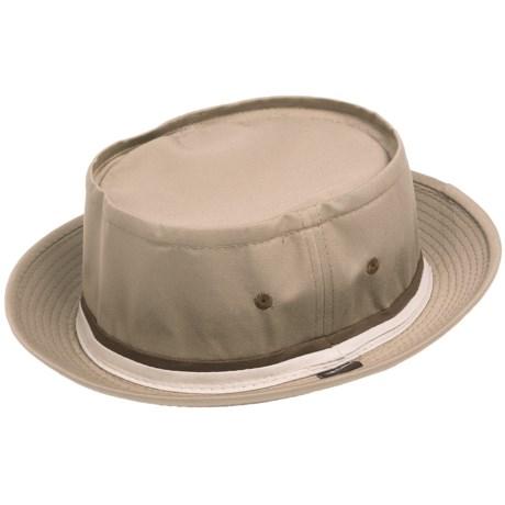 Cov-ver Stingy-Brim Fedora Hat - Organic Cotton (For Men and Women)