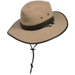 Cov-ver Soft Cotton Outback Hat (For Men and Women)