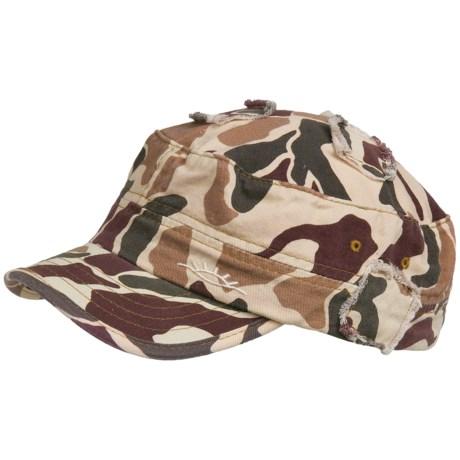 Cov-ver Camo Military Cap - Cotton Blend (For Men and Women)