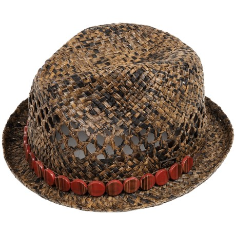 Cov-ver Cov-Ver Raffia Fedora Hat (For Women)