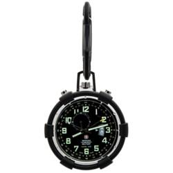 Wenger Swiss Military Traveler Alarm Pocket Watch (For Men)