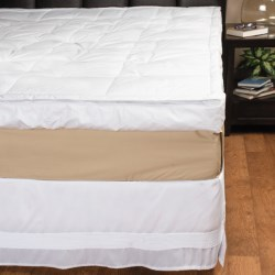 """Blue Ridge Home 5"""" Down Pillow-Top Featherbed - Full"""