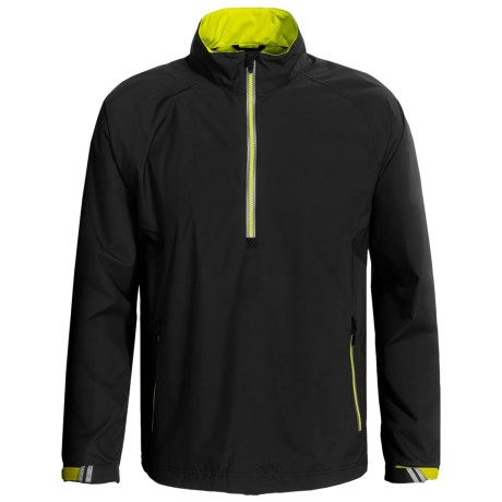 Zero Restriction Power Torque Pullover Jacket - Waterproof, Zip Neck (For Men)
