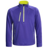 Zero Restriction Draw Pullover - Zip Neck, Textured Knit, Long Sleeve (For Men)