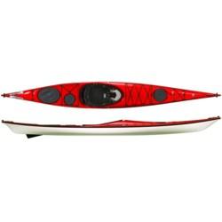 "Wilderness Systems Zephyr 155 Pro Expedition Kayak - Fiberglass, 15'6"""
