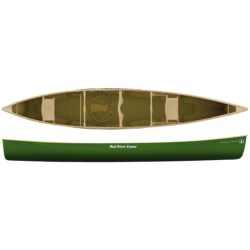 """Mad River Expedition 17 Canoe - Cane Seat, 17'6"""""""