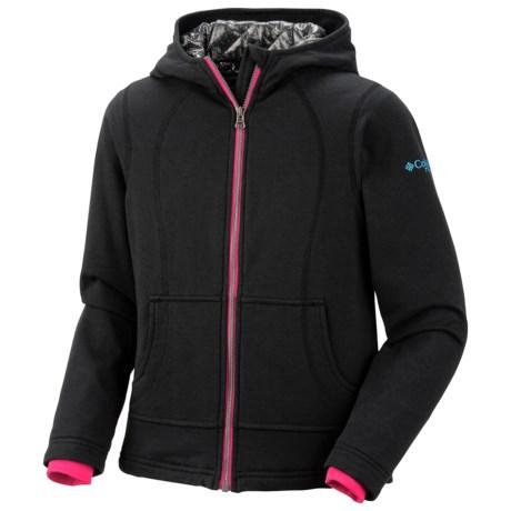 Columbia Sportswear Heat Explosion Fleece Jacket - Hooded (For Girls)