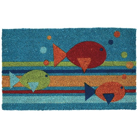 "DII Coir Summer Fun Theme Doormats - 18x30"""