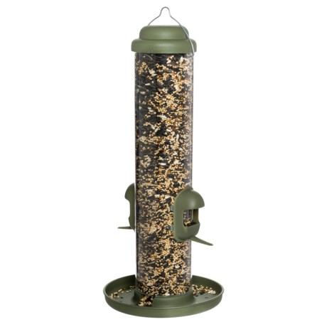 Allied Precision Dual Purpose Finch Tube Bird Feeder
