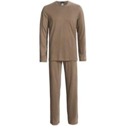 Hanro Cotton-Cashmere Loungewear Set - Long Sleeve (For Men)