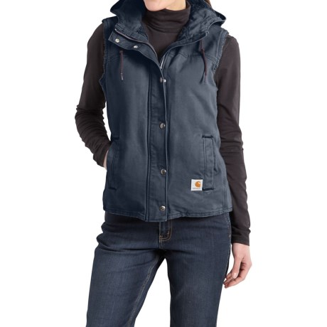 Carhartt Sandstone Berkley Vest II - Sherpa-Lined (For Women)