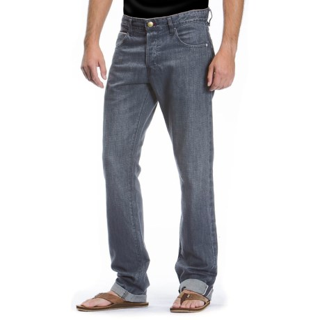 Agave Denim Purist Old Loom Linen Jeans - Classic Fit, Straight Leg (For Men)