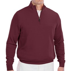 Fairway & Greene Wind Sweater - Merino Wool, Zip Neck (For Men)
