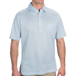 Fairway & Greene Spencer Pureformance Stripe Polo Shirt - Short Sleeve (For Men)