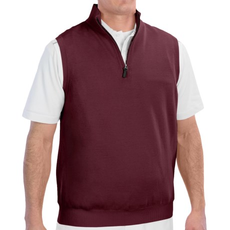 Fairway & Greene Wind Vest - Merino Wool (For Men)