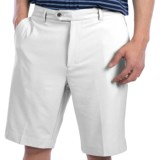 Fairway & Greene Tech Twill Shorts - Flat Front (For Men)