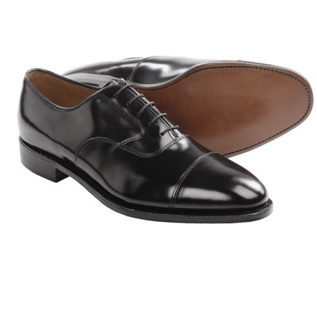 Johnston & Murphy Adler Cap Toe Shoes - Oxfords (For Men)