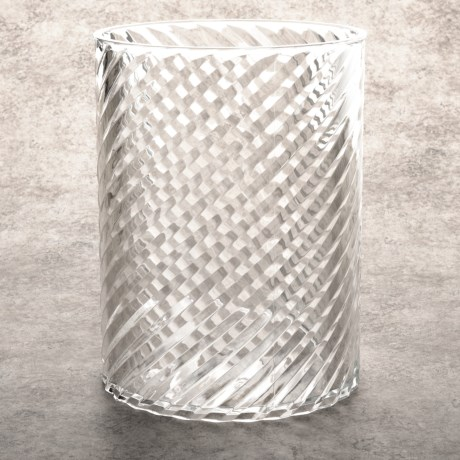 Creative Bath Clear Acrylic Waste Basket