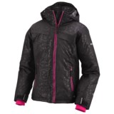 Columbia Sportswear Snow Flame Omni-Heat® Ski Jacket - Waterproof, Insulated (For Little Girls)