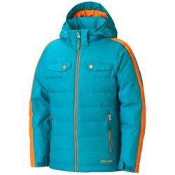 Marmot Zermatt Down Jacket - 700 Fill Power, Insulated, Hooded (For Girls)