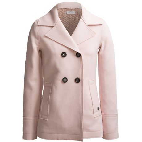 Bogner Stella Coated Wool Jacket - Double Breasted (For Women)