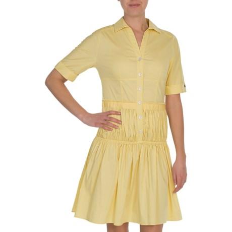 Bogner Adalie Dress - Cotton-Nylon, Short Sleeve (For Women)