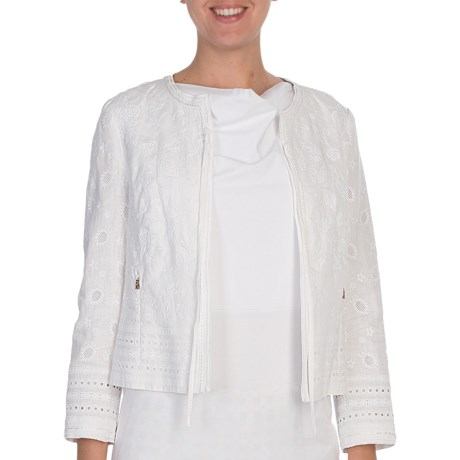 Bogner Elina Tie Jacket - Linen  (For Women)