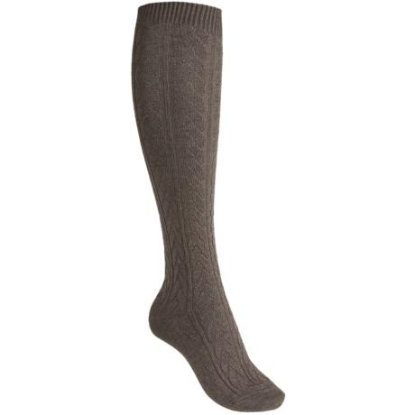 Falke Striggings Cable-Knit Knee-High Socks - Over-the-Calf (For Women)
