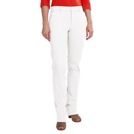 Bogner Celine Trouser Pants - Stretch Cotton, Straight Leg (For Women)