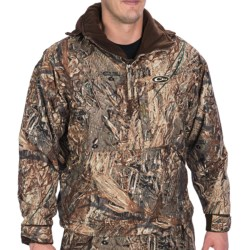 Drake MST Fleece-Lined Camo Pullover Jacket - Zip Neck (For Men)
