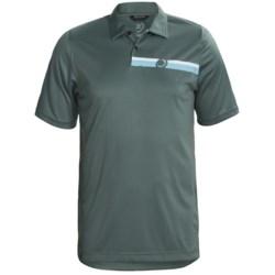 Zero Restriction Engineered Polo Shirt - Short Sleeve (For Men)