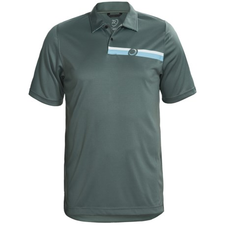 Zero Restriction Engineered Polo Shirt - Short Sleeve (For Men)